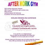 Afterwork gym med GardenGirl